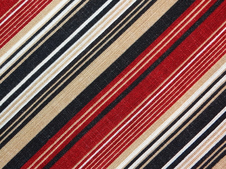stripping: striped fabric