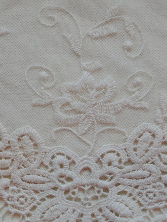 at white: white lace