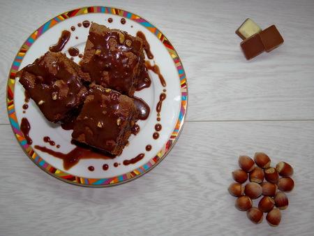 hazelnut tree: chocolate cake