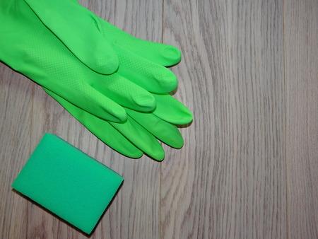 rubber gloves: rubber gloves
