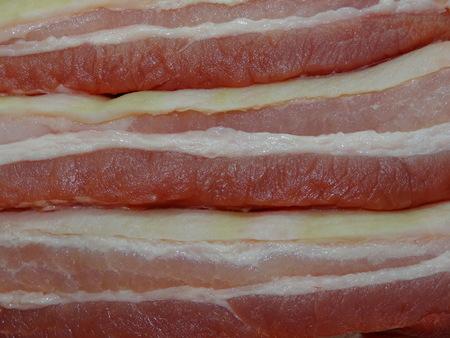 strata: meat, pork