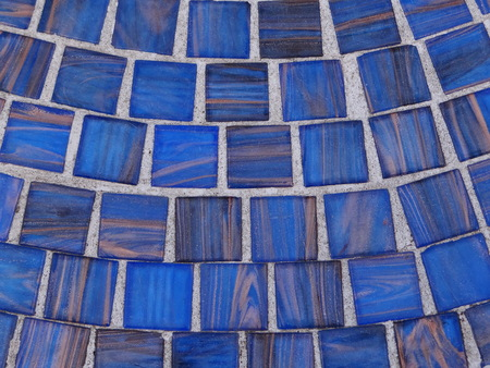 mosaic: Blue mosaic