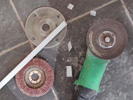 molinillo: amoladora angular