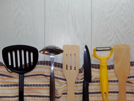 kitchen: kitchen utensils Stock Photo