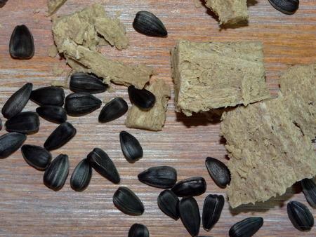 sunflower seeds: halva and sunflower seeds