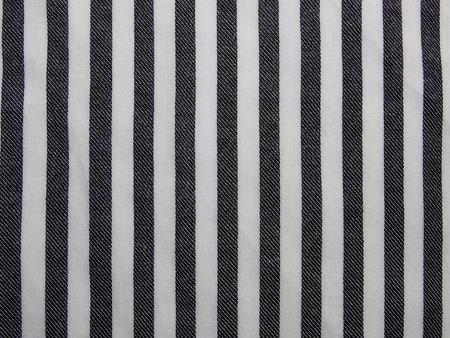 suture: striped fabric
