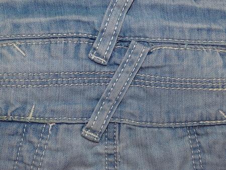 denim fabric: blue denim fabric Stock Photo