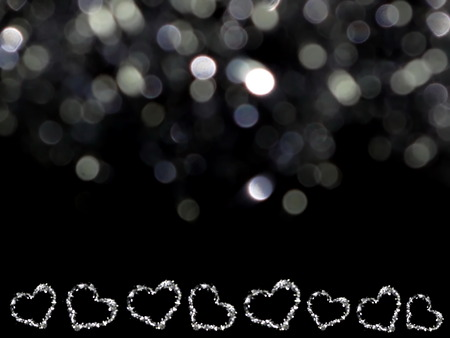 shiny background: heart on shiny background
