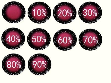 paillette: sale Stock Photo