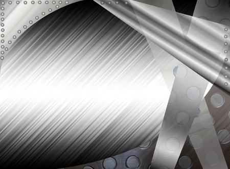 steel sheet: Metal abstract background Stock Photo