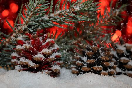 Christmas background Stok Fotoğraf - 131349202