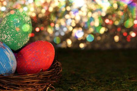 Easter egg Stockfoto - 137876585
