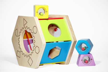 tricky: Tricky wooden colored toy for newborn baby