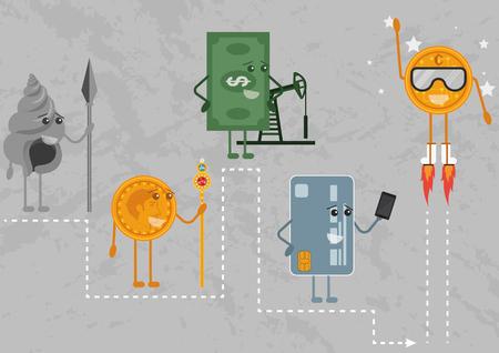 Evolution of money.