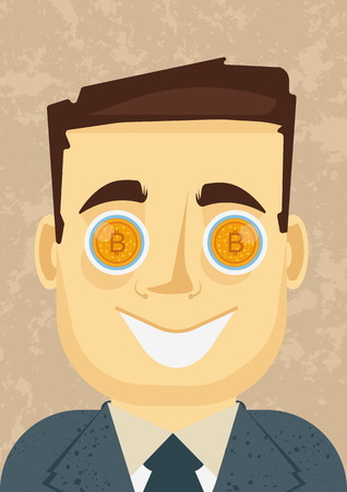 ackpot eyes - when bitcoin or other cryptocurrency is going up