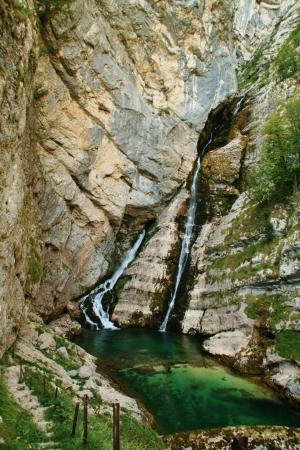 bohinj: Bohinj waterfall