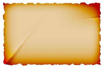 dirt texture: Foglio di carta vecchio isolato