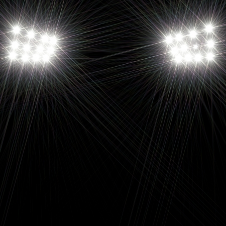 stage lights: Stage lights background  Stock Photo