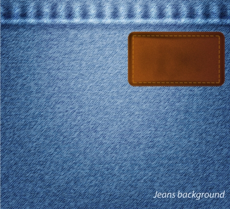 jeans background. Stock Vector - 17558948