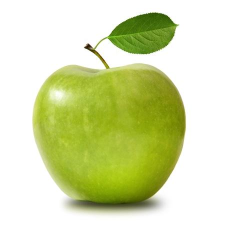 manzana verde: Manzana verde aislado