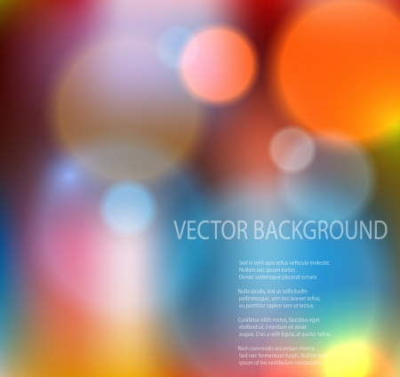 Abstract colorful background  EPS10 vector illustration  Vector