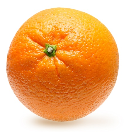 Orange fruit isolated photo