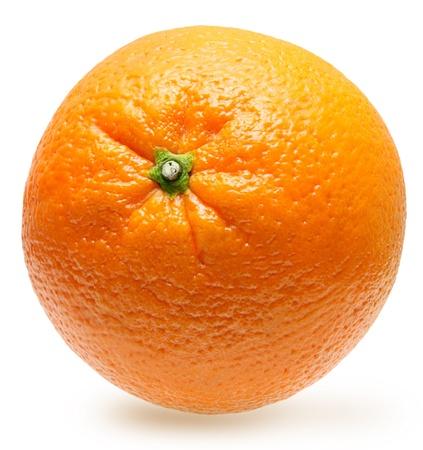 orange slice: Oranje fruit geïsoleerd