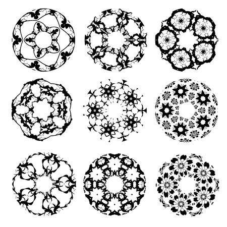minimal: Dise�o abstracto del c�rculo.