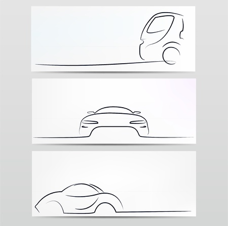 Silhouette of car  Stock Vector - 20138654