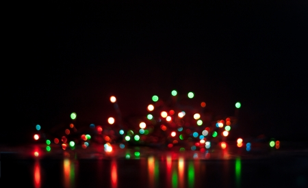 Abstract bokeh, magic colorful blurred background. photo