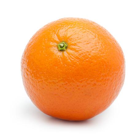 mandarin orange: Orange fruit, tangerine,citrus isolated on white background.