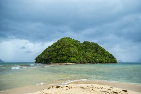 El Nido bay and small island, Palawan, Philippines
