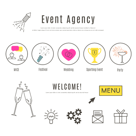 Event Agency Web Design Template