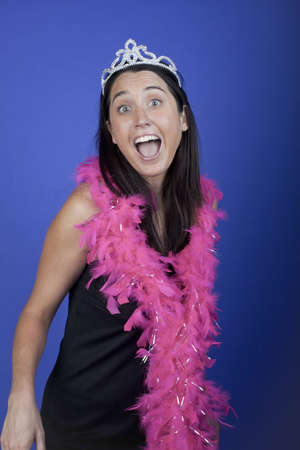 Excited bachelorette Stock Photo - 8561334