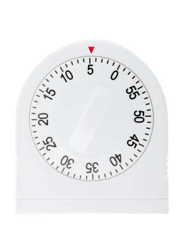 Kitchen timer counting down from 5 minutes Reklamní fotografie