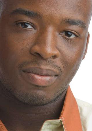 Headshot of a black man