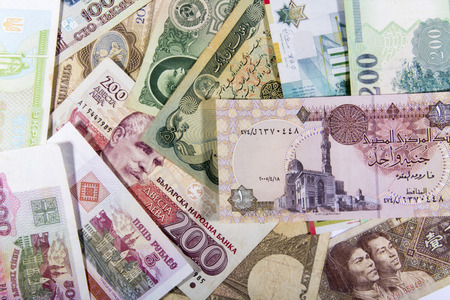 different countries: Banknotes of different countries