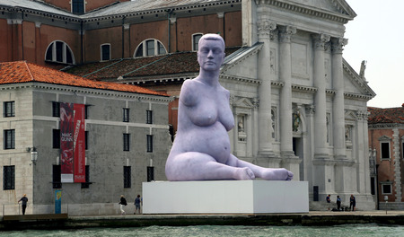 alison: Installation Alison Lapper Pregnant on the 55th the Venice Biennale
