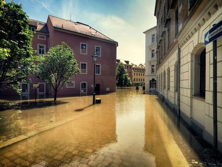 evacuacion: Inundaciones en Meissen, Alemania, junio de 2013