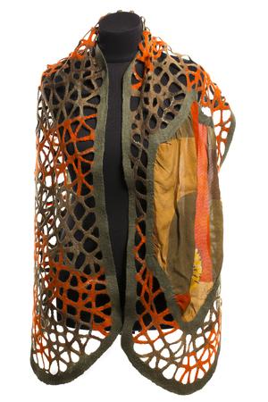 robo: Mujer robó de lana de fieltro en un maniquí