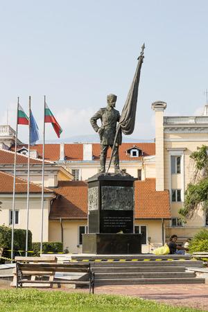 Monument to the Bulgarian militia in Sofia.