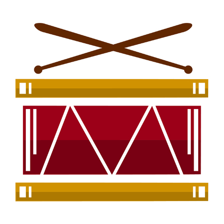 Drum. Vector illustration