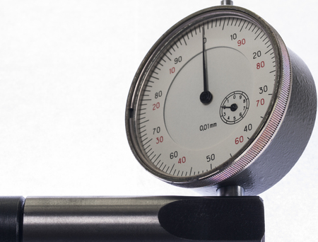 depth gauge: Digital indicator on the stand for the accurate measurement readings
