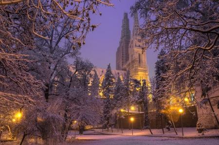 zagreb: Zagreb Cathedral Stock Photo