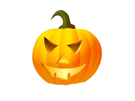 Vector icon of halloween pumpkin Stock Vector - 16040267