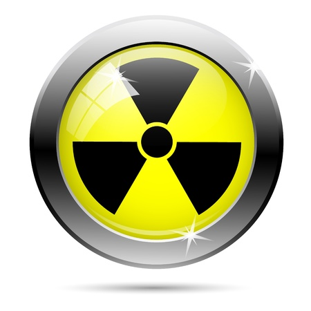 Nuclear sign representing the danger of radiation Stock Photo - 18418937
