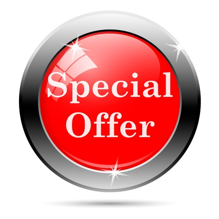 Sales button - special offer photo