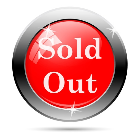 Sales button - sold out photo