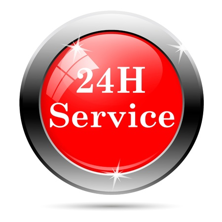 24 hours service button