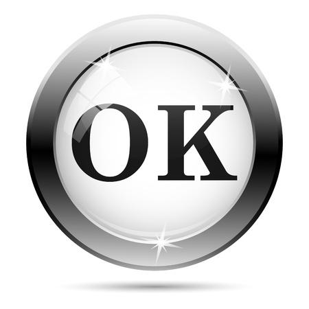 Metallic icon with black design on white glass background Stock Photo - 21096265